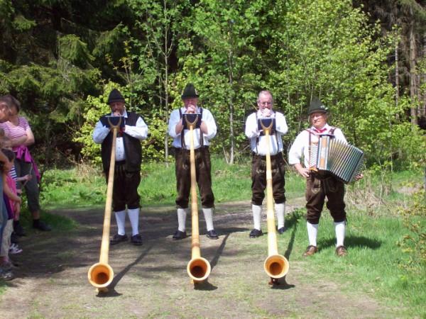 Die Musikanten aus Hemschlar.