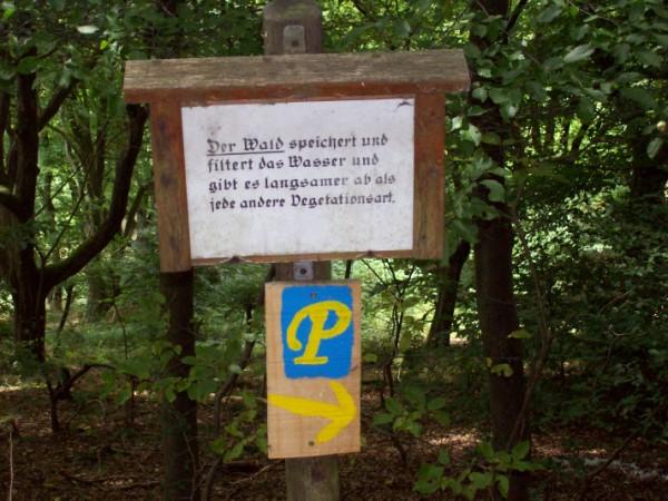 """Wanderzeichen """"Panoramapfad"""""""