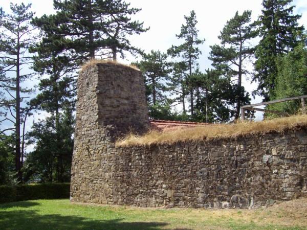 Abschnitt der Burgmauer