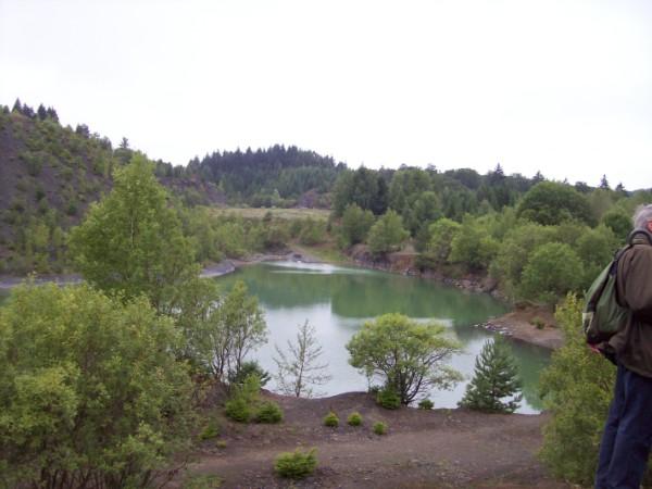 Der Silbersee - einen Schatz haben wir nicht gefunden, aber, der Blick war Freude genug!