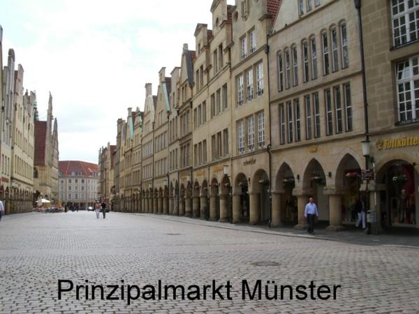 Münster: Prinzipalmarkt