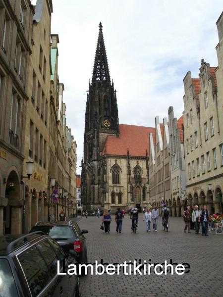 Münster: Lambertikirche