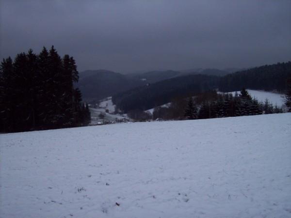 Schade, die Sonne von Freitag fehlte bei der Aufnahme des beginnenden Winters.