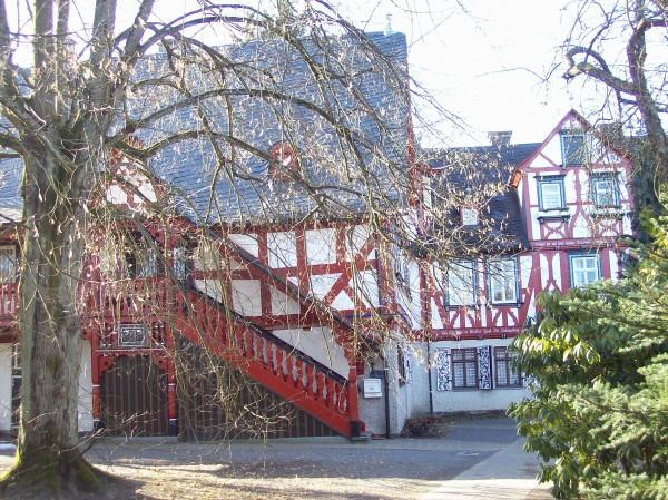 """Eines der schönsten Gebäude des Städtchen, die """"Ludwigsburg"""""""