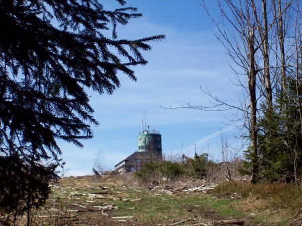 Der erste Blick auf den Astenturm.