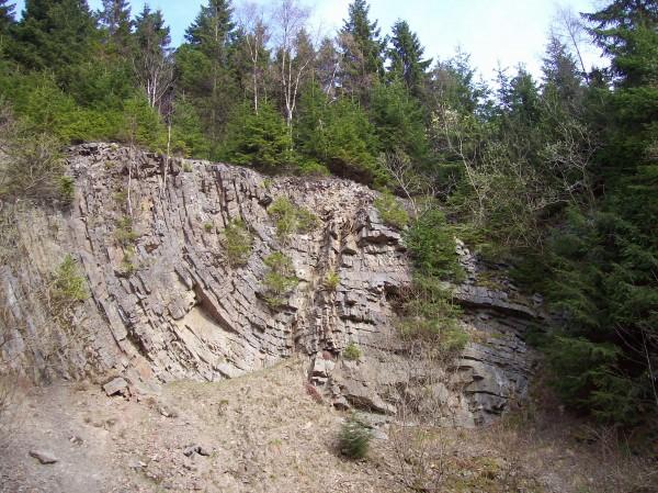 Gesteinfalten, einige Millionen Jahre alt!