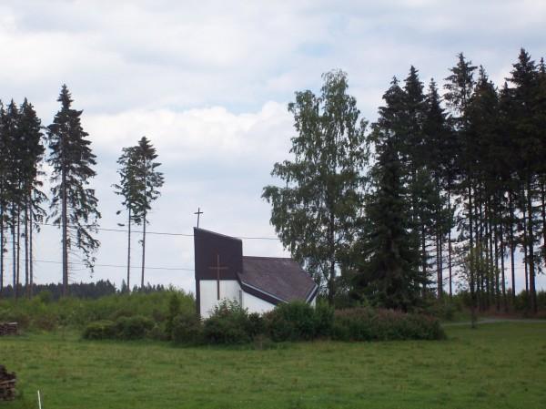 Die kleine Kapelle in Christianseck