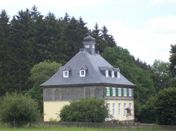Dieses Gebäude gehörte einst zum fürstlichen Haus