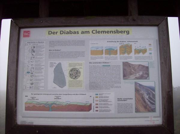 Information über den Diabas, der hier zu finden ist!