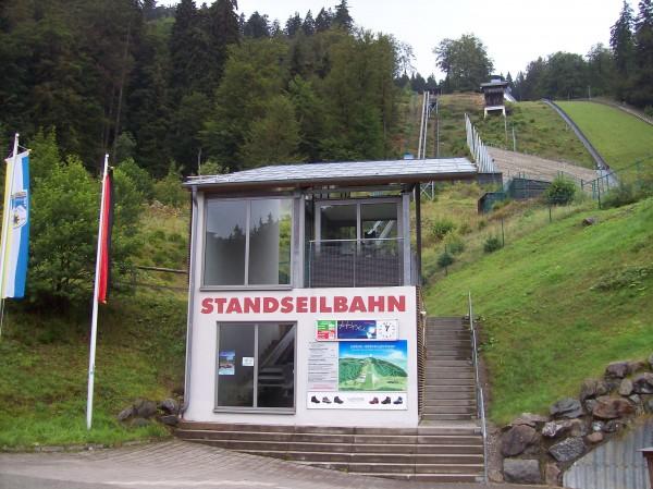 Die Talstation der Mühlenkopfschanze!