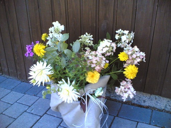 Sommer-Blumengruß