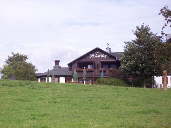 Der Schäferhof in Jagdhaus - dort klang die Wanderung aus