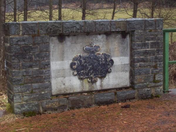 Zierde an einer Brücke - Wappen des Hauses zu Sayn-Wittgenstein-Berleburg