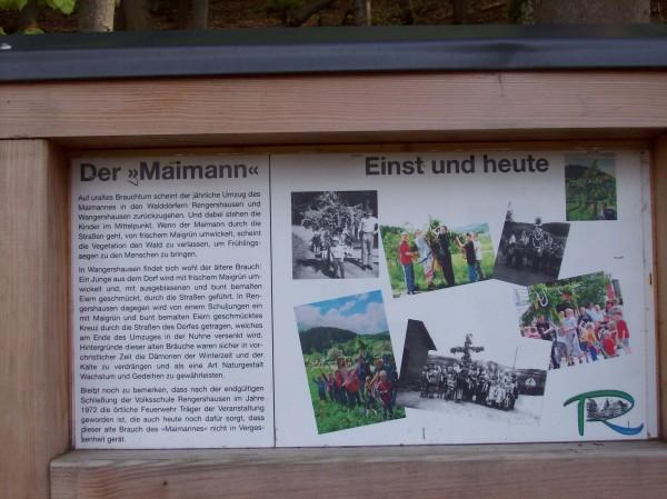 """Wissenswertes - was es einst und heute mit dem Rengershäuser """"Maimann"""" auf sich hat"""
