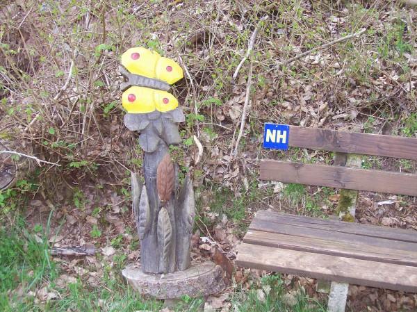 """Eine Skulptur in """"Wichtelhausen"""""""