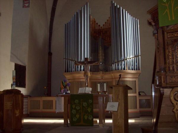 Chorraum in der Martinskirche