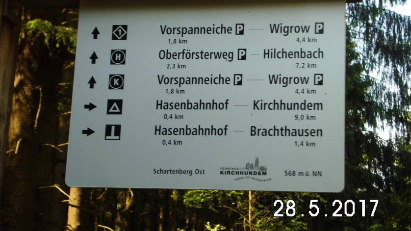 Viele sehenswerte Wege führten vom Hasenbahnhof in die wundervolle Natur des Sauerlandes