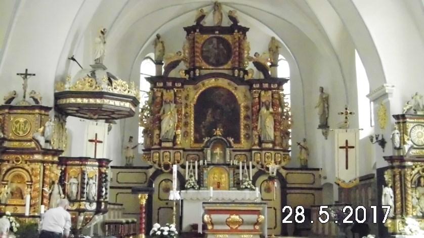 Die Pfarr- und Wallfahrtskirche Marriä Heimsuchung Kohlhagen, ein prächtiges Gotteshaus, ein mehr als lohnenswerter Besuch