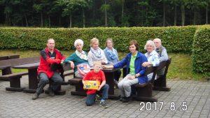 Speisen und Getränke frei war das freundliche Motto des SGV-Vorstands, der sich über freiwillige Spenden freute, die einem wohltätigen Zweck zugeführt werden sollen. Eine sehr nette Geste