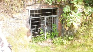 Bunker, einst sowohl zum Kühlen des Bieres als auch als Schutzbunker genutzt