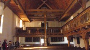 Beeindruckender Innenraum der Martinikirche