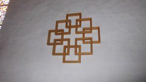 Wunderschöne Darstellung eines Kreuzes