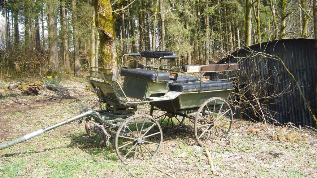 Es war einmal, eine alte Kutsche, ein Fortbewegungsmittel aus früherer Zeit