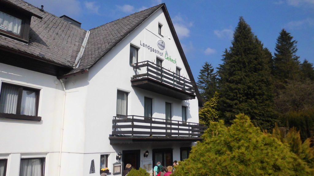 Landgasthof Restaurant Laibach - das Ziel nach der Wanderung